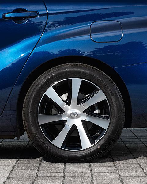 Mirai, Fuel Cell, driving, Germany, wheel, 17 inch alloys